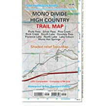 Mono Divide high country trail map (Tom Harrison Maps)