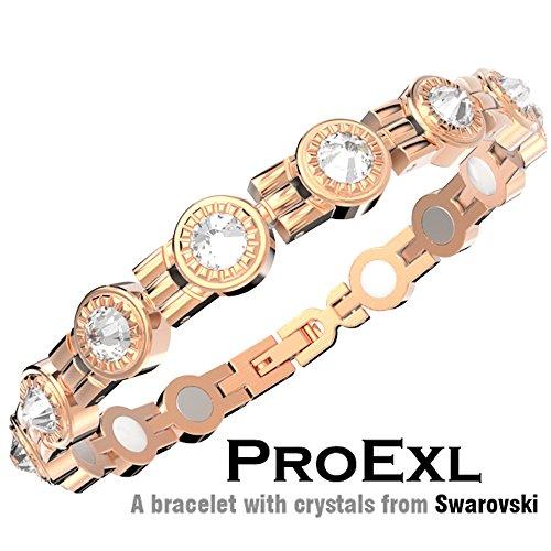 Swarovski Crystal Bracelet Magnetic Crystals