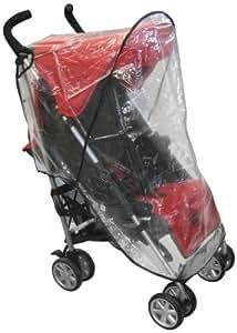 Sasha Kiddie Mutsy Mutsy 1R EasyRider Individual Cochecito lluvia y del viento de la cubierta - Cochecito No Incluido