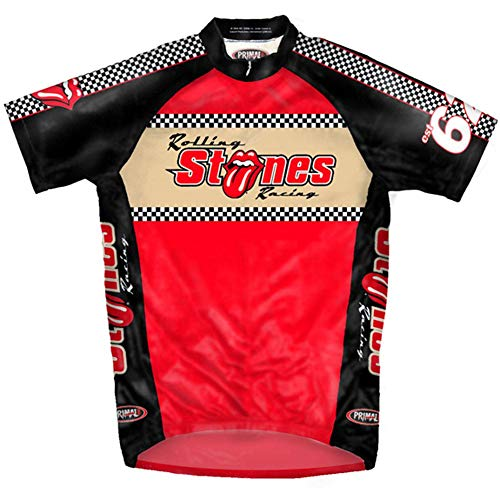 (Rolling Stones - Mens Racing Cycling Jersey Small)