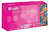 Aurelia SUPL78886c Blush  Gloves, 16.93'' Height, 9.76'' Wide, 10'' Length, Nitrile, Small, Pink (Pack of 2000)