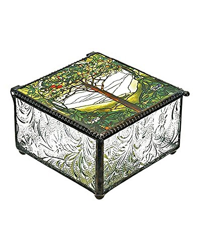 Tiffany Tree of Life Trinket Box]()