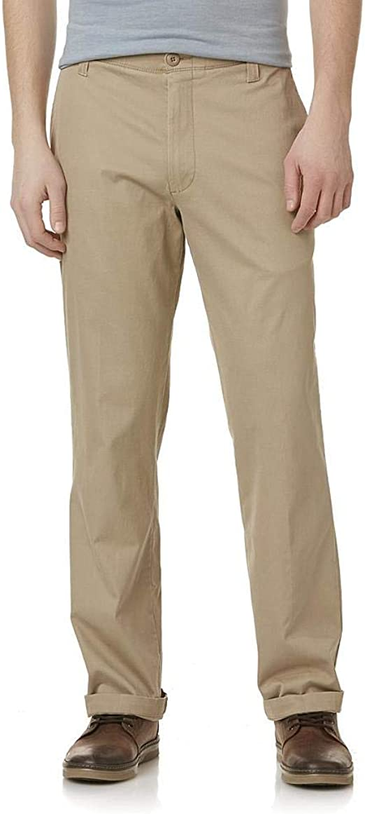 Lee ® X-TREME COMFORT Flat Front Straight Fit Khakis Chinos W 32 L 32 Trousers
