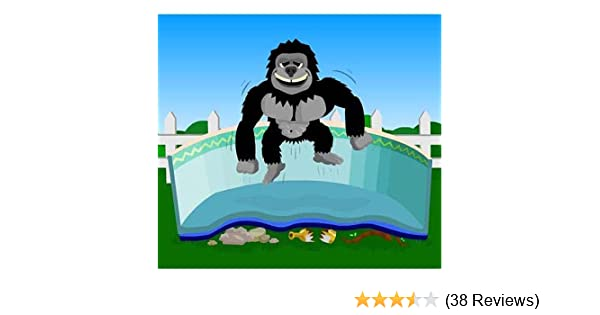 d55f92fff945 Amazon.com : Gorilla Floor Padding for 16ft x 32ft Rectangular Above Ground Swimming  Pools : Swimming Pool And Outdoor Water Toys : Garden & Outdoor