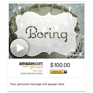 Amazon Gift Card - Email - Uncommon Birthday Treats (Animated) [Hallmark] (B00H5BMPOG) | Amazon price tracker / tracking, Amazon price history charts, Amazon price watches, Amazon price drop alerts