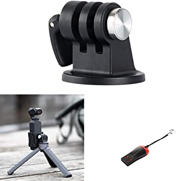 Becobe Universal New Cycle Bike Mount Clamp for DJI OSMO Action for GoPro Cameras