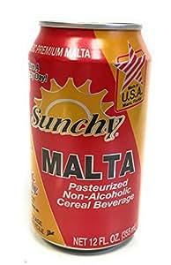 Amazon Com Sunchy Classic Premium Malta In 12 Ounce Can