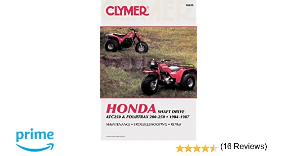 Clymer honda atc2504trax 200 250 84 87 service repair clymer honda atc2504trax 200 250 84 87 service repair maintenance clymer all terrain vehicles penton staff 9780892874293 amazon books fandeluxe Choice Image