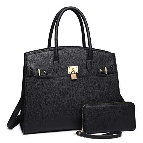 Designer Handbags Net - AOA Designer Purses and Handbag Women's Satchel Tote Purse Ladies Work Bags with Wallet