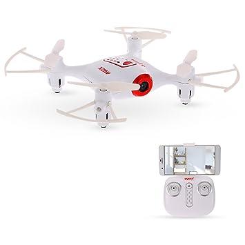 Syma X21W Wifi FPV 720P Cámara Barómetro Set Altura RC Drone ...