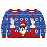 Men's and Women's Two Person Ugly Christmas Sweater
