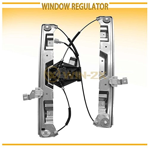WIN-2X New 1pc Front Driver Left Side Power Window Regulator With Motor Assembly Fit 02-10 Ford Explorer 4-Door 07-10 Sport Trac 02-10 Mercury (Ford Explorer Power Window Regulator)