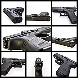 The Original Clipdraw for Glocks Part #GS fits models: 17, 19, 22, 23, 24, 25, 26, 27, 28, 30S, 31, 32, 33, 34, 35, 36