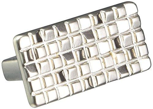 Siro Designs SD90-142 Mosaic Cabinet Pull, 1.95-Inch, Nickel