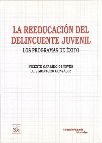 La Reeducación del Delincuente Juvenil. Los Programas de Exito: Amazon.es: Vicente Garrido Genovés, Luis Montoro González: Libros