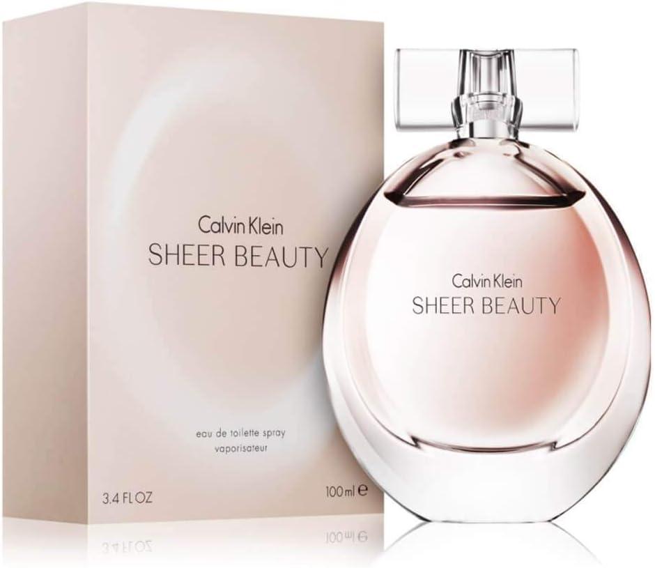 Calvin Klein Sheer, Agua de perfume para mujeres - 100 ml.