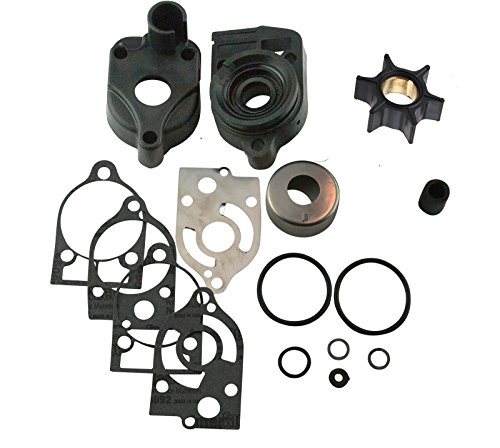 Mercury Water Pump Rebuild Kit 46-77177A3 Fits MANY 30 35 40 45 50 60 65 70 Hp (See Fitment Chart in Description) ()