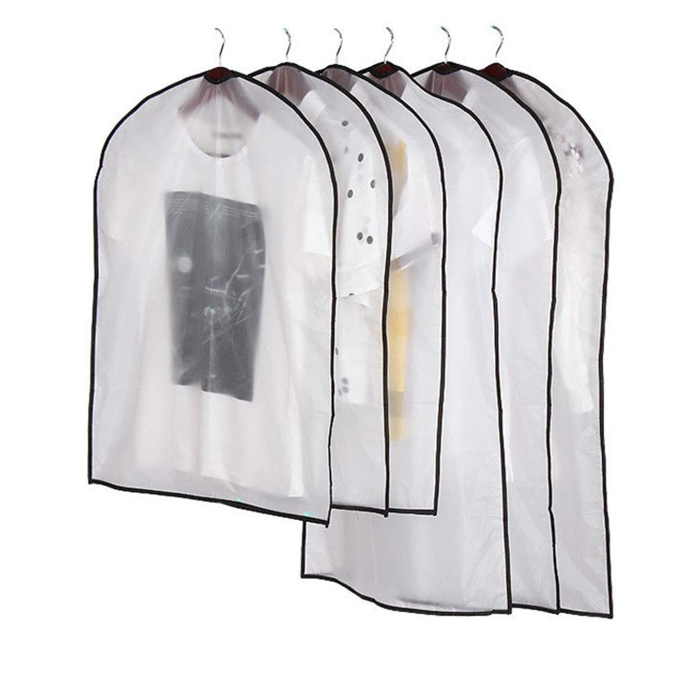 Clothes Dress Garment Dustproof Cover Bag Suit Coat Storage Protector Home Hotel