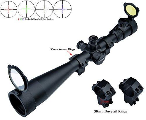 Eagle Eye Saxon Rifle Scope 10-40x50 Side Focus (30mm Tube