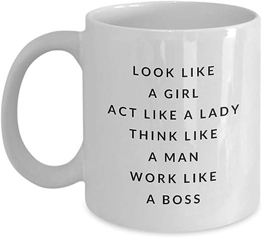 Amazon Com Look Like A Girl Act Like A Lady Think Like A