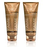 BRAZILIAN BLOWOUT by ACAI PROTECTIVE THERMAL STRAIGHTENING BALM 8 OZ (Package Of 2)