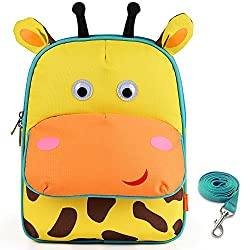 Yonovo Toddler Backpack With Safety Harness Leash Kids Insulated Lunch Bag For Boys Girls School