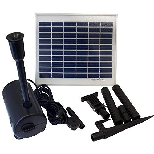 Lucent 5 Watt Garden Solar Water Pump Kit