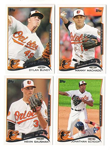 2014 Topps Mini - BALTIMORE ORIOLES Team Set