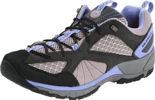 Merrell Avian Light Ventilator Womens Hiking Trainers / Shoes - Brown Grey
