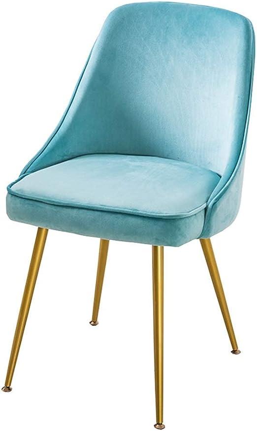 Sillas Diseño moderno Sillas comedor Mesas sillas hogar Terciopelo ...
