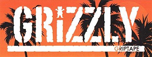Grizzly Griptape Laguna Beach Skateboard Sticker - 20.5cm wi