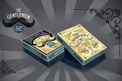 Amazon.com: Bicicleta La cubierta Señores 52 Juego de cartas ...