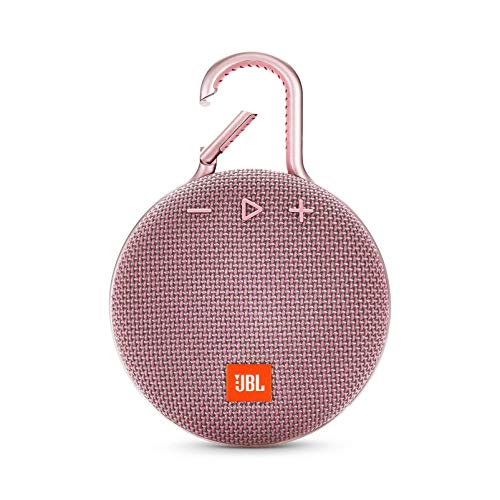 اسعار JBL Clip 3 Portable Waterproof Wireless Bluetooth Speaker - Pink