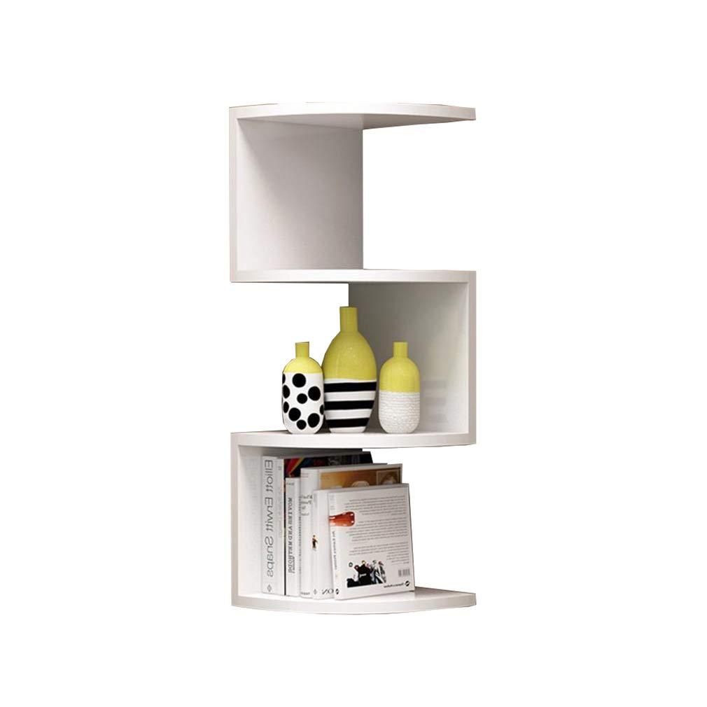 67x20cm YXQ Bookshelf - Corner Bookshelf Rack Storage Rack Wall Hanging Wall Shelf Wall Corner Frame Corner Triangle Wall Partition Bookshelf (Size   67x20cm)