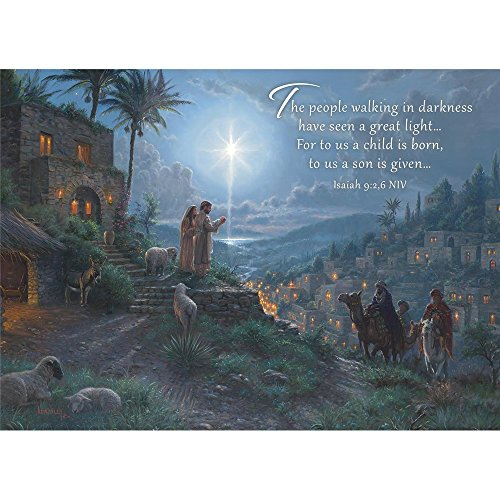 Lights Boxed Holiday Cards (Legacy Publishing Group Boxed Holiday Greeting Cards with Scripture, His Light Shines (HBX40770))
