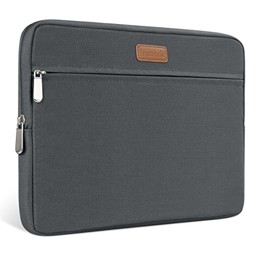 Inateck 13-13.3 Inch Sleeve Compatible MacBook Air/Pro Retina Water Repellent Sleeve Carrying Case Bag (LC1300S) - Gray
