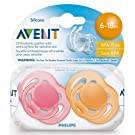 Philips Avent Scf178/24 6-18 Months Freeflow Pacifier 2 Count