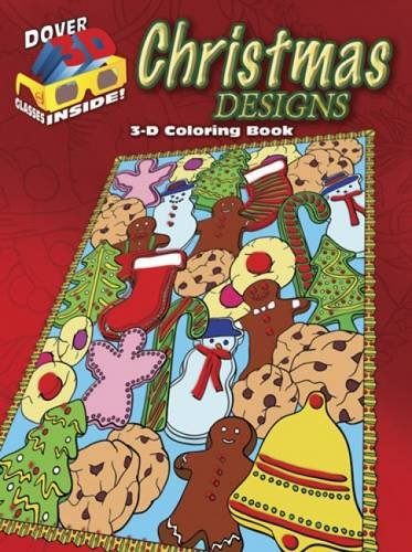 Read Online 3-D Coloring Book - Christmas Designs (Dover 3-D Coloring Book) PDF Text fb2 ebook