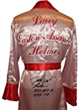 """Larry Holmes Signed Boxing Robe """"Easton Assassin"""