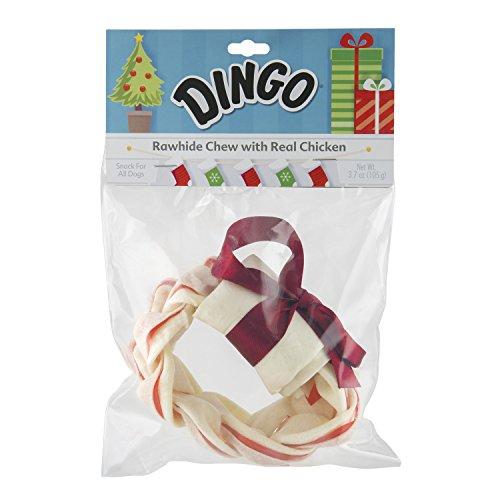 Dingo Christmas Wreath Chew, One Size ()