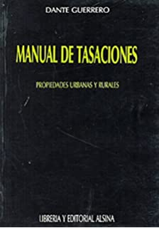 Manual de Tasaciones (Spanish Edition)