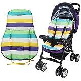 ZHUOTOP Cute Waterproof Cushion Padding Liner Seat Pad Rainbow For Baby Stroller Pram