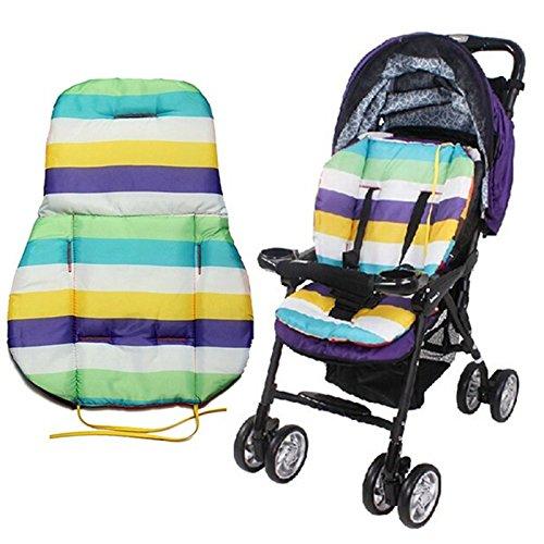 zhuotop Cute Wasserdicht Kissen Polsterung Liner Sitz Pad Rainbow f/ür Baby Buggy Kinderwagen