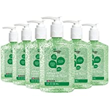 Mountain Falls Advanced Hand Sanitizer with Vitamin E and Aloe, Pump Bottle, Compare to Purell, 8 Fluid Ounce (Pack of 6)