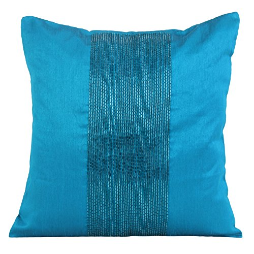 turquoise-decorative-pillow-cover-beaded-turquoise-throw-pillow-cover-in-panel-embroidery-accent-pil
