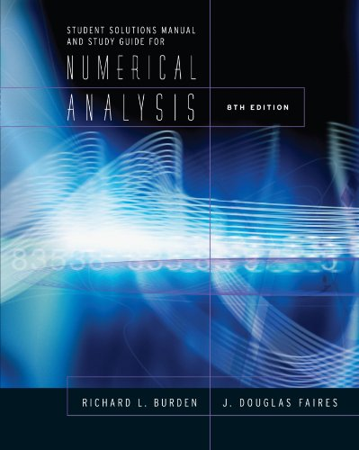 Study Guide for Numerical Analysis