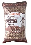 Roasted Buckwheat Kasha, Buckwheat Groats, Kosher 2 lbs (Pack of 2)
