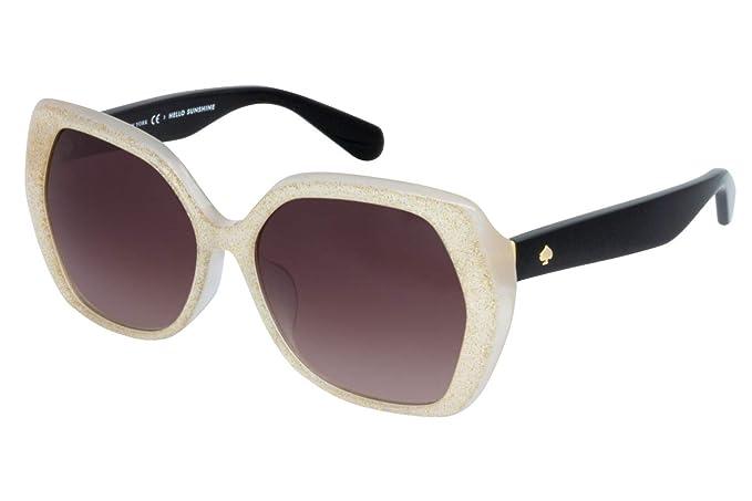 Amazon.com: Gafas de sol Kate Spade AVELA/F/S S2V marfil ...