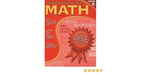 Math Kindergarten (Premium Education): Learning Horizons ...