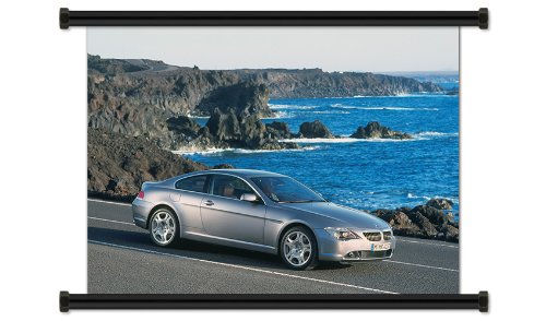Bmw 645ci Coupe (BMW 6 Series Fabric Wall Scroll Poster (32